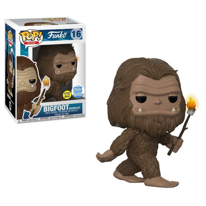 Funko POP! Myths Bigfoot with Marshmallow Stick GITD #16