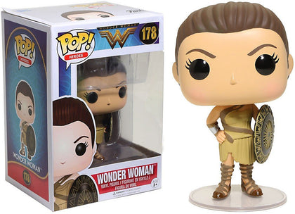 Pop! Heroes Wonder Woman Vinyl Figure Wonder Woman (Themyscira) #178 Hot Topic Exclusive