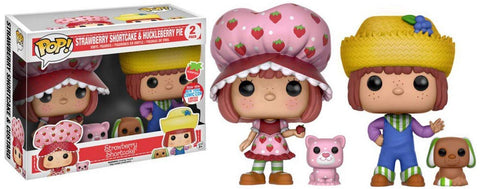 Strawberry Shortcake Funko POP! Animation Strawberry Shortcake & Huckleberry Pie Exclusive Vinyl Figures