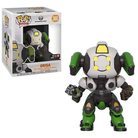 "Pop Games: Overwatch - 6"" Orisa Collectible Figure (GameStop Exclusive)"