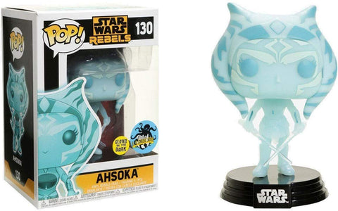 Pop! Star Wars Rebels #130 Glow in The Dark Ahsoka (2017 Comikaze Exclusive)
