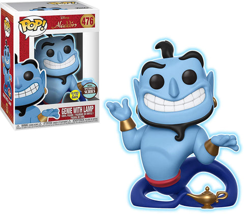 POP! Specialty Series: Disney - Genie w/ Lamp (Glow in The Dark)