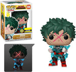 Pop! Animation :My Hero Academia Deku Cowl Glow-in-The-Dark Pop! Vinyl