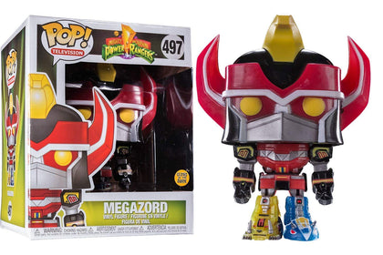 Pop! Animation: Power Rangers Megazord Glow-in-The-Dark 6-Inch Pop! Vinyl