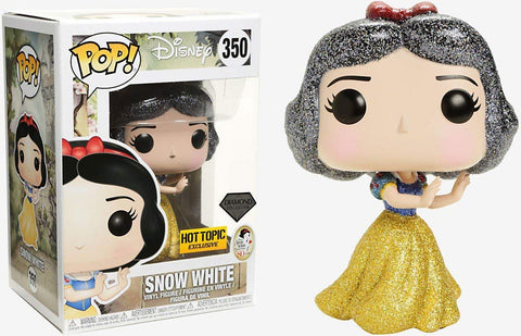 Pop Movies: Disney - Diamond Snow White Collectible Figure, Multicolor