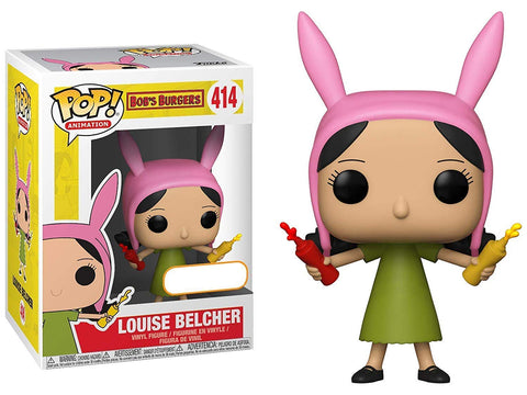 Funko Pop! Bob's Burgers Louise Belcher with Condiments Vinyl Figure Exclusive