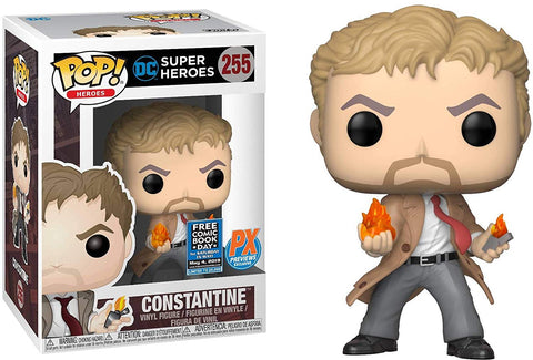 Pop Heroes: DC Super Heroes - Constantine Collectible Figure, Multicolor