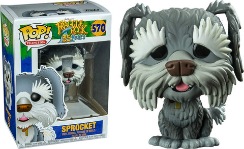 Pop Television: Fraggle Rock - Sprocket Collectible Figure, Multicolor
