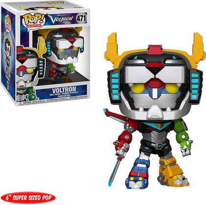 "Pop 6"" Animation: Voltron-Voltron Collectible Figure, Multicolor - 34189"