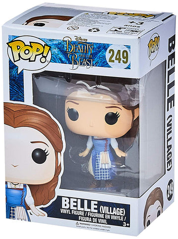 Pop! Disney Beauty and the Beast (2017) Vinyl Figure Belle (Village) #249 Walmart Exclusive