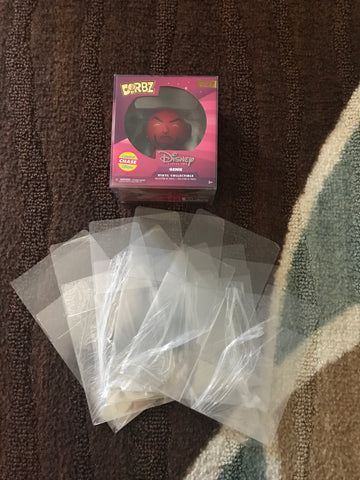 Plastic Protectors for Dorbz (Dorbz not included) single