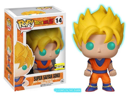 Pop! Animation DBZ- Super Saiyan Goku EE Exclusive GITD