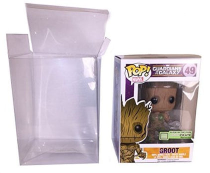 Plastic soft Protectors (pop not included)