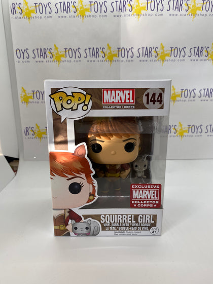 Pop! Marvel Collectors Corps- Squirrel Girl