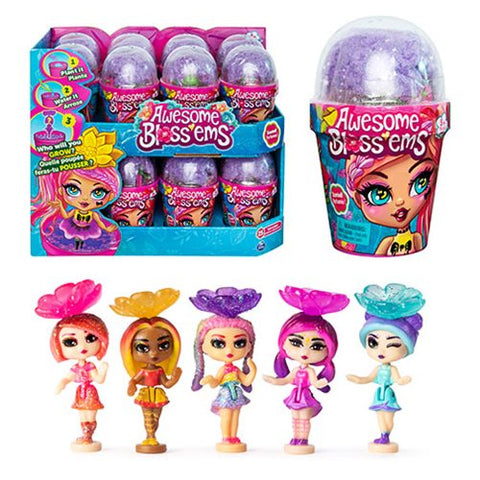 Spinmaster-Awesome Blossems Doll Blind Box