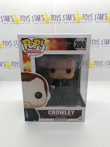 Pop! Television- Supernatural- Crowley