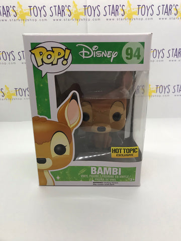 Pop! Disney- Flocked Bambi