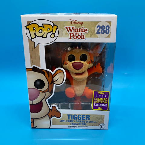 Pop! Disney - Tigger- Flocked 2017 Summer Convention