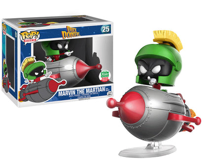 Pop! Rides Marvin the Martian on Rocket