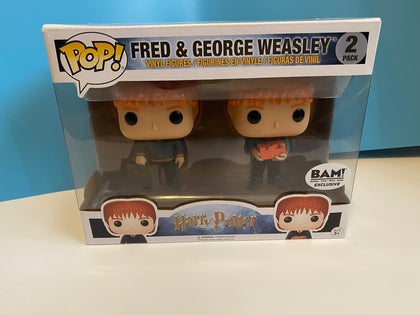 Pop! Harry Potter - Fred and George Weasley 2pk