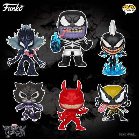 Pop! Marvel Venomized -Set of 6