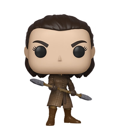 POP! TV - GAME OF THRONES- Arya Stark with 2 sided spear Pre-Order