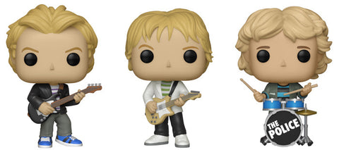 POP! ROCKS :THE POLICE- Set of 3 - Pre-Order