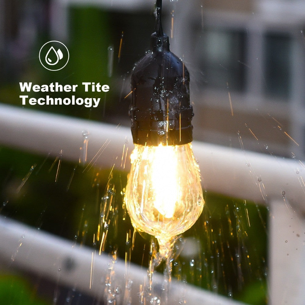 100 commercial outdoor patio string lights curtain string l