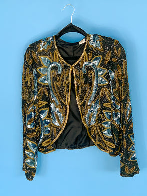 Gold Beaded Jacket