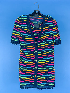 Stizzoli rainbow sweater set