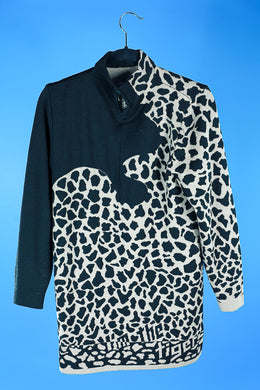 1990s Leopard print sweater by Mondi