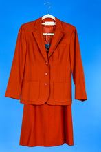 Pendleton Burnt Orange 2 Piece Suit