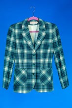 Pendleton Green Plaid 2 Piece Suit