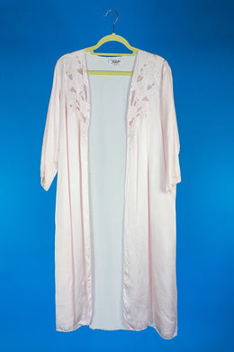 Xiuzl Silk Nightgown Set