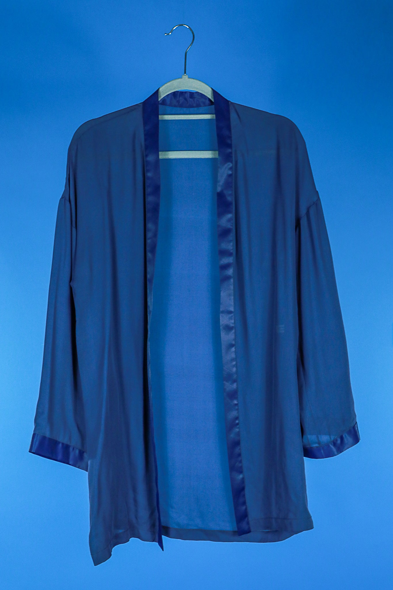 Blue Sheer Robe