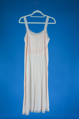 Julie- 1940s Lace Slip Dress 90s style dress