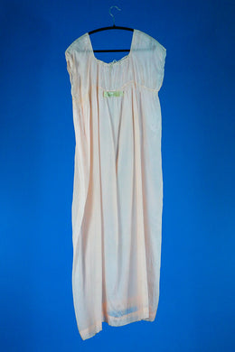 Ingrid- 1930s Silk Bridal Boudoir Feminine Nightgown