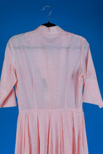 1950s striped dress by David Crystal