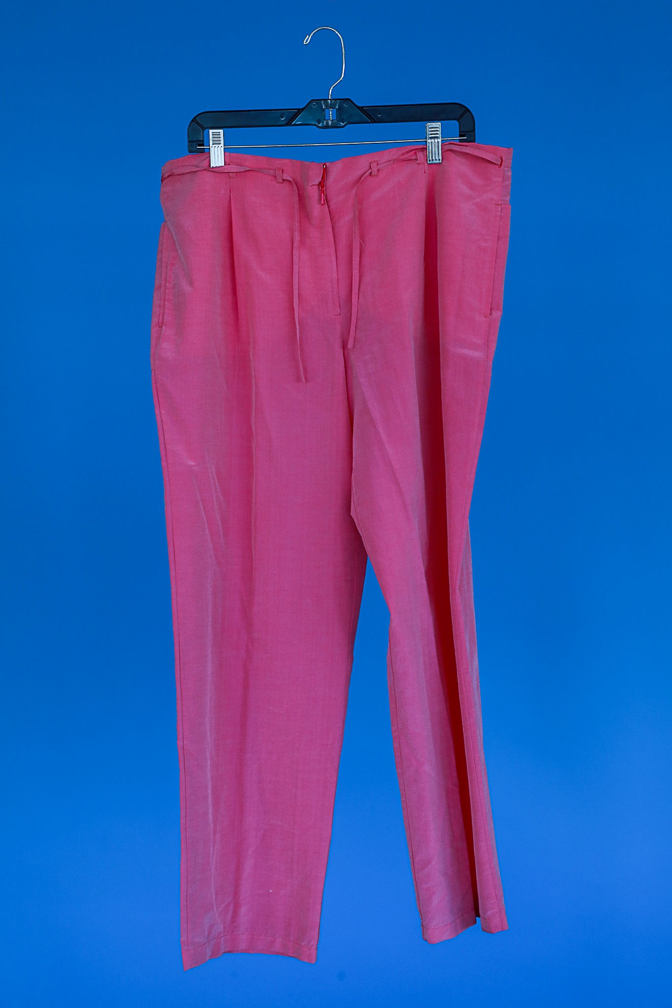 Pink drawstring pants by Escada Sport