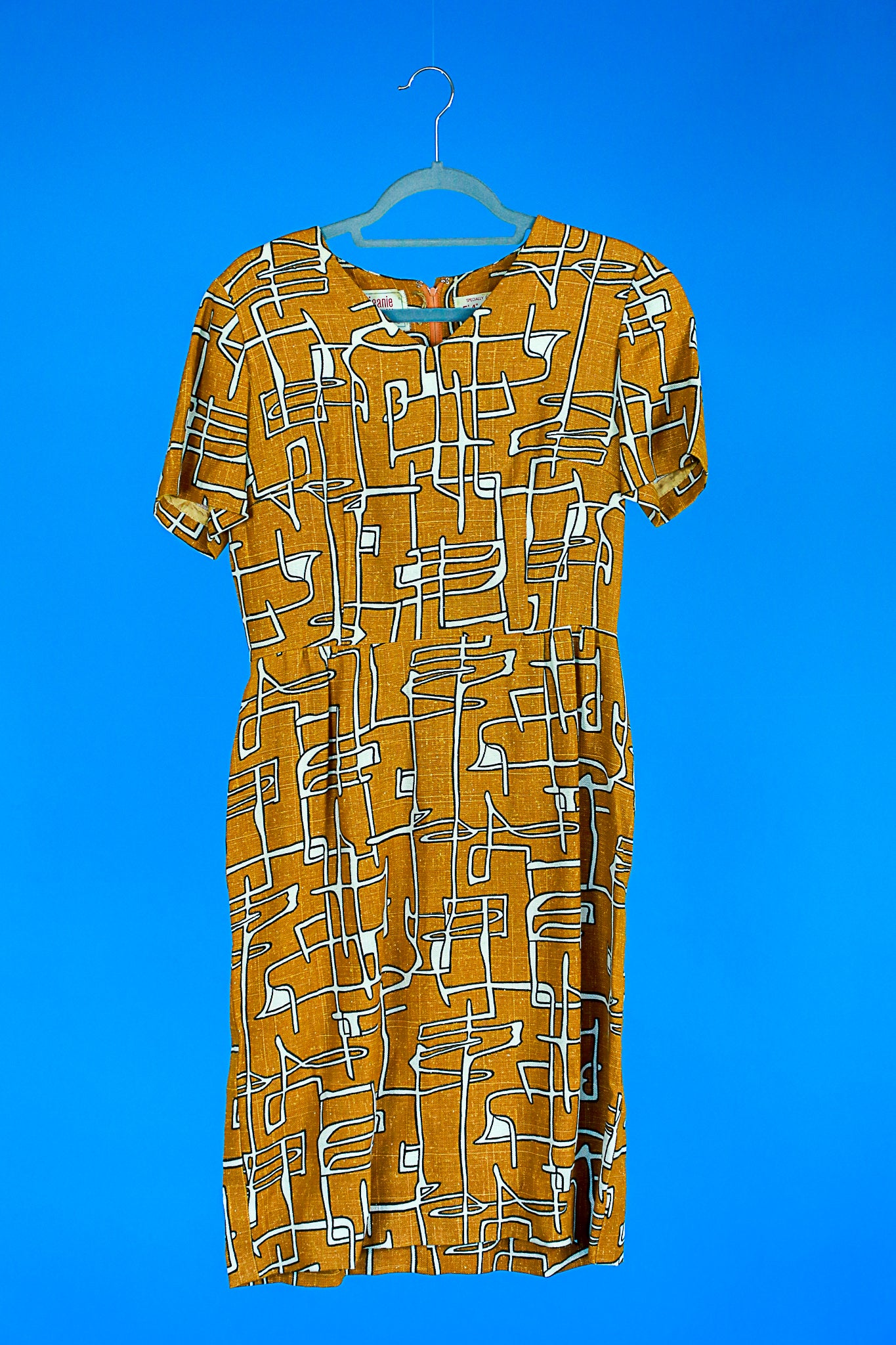 MCM print dress by Jeanie petite