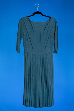 Lora Lenox Grey Dress