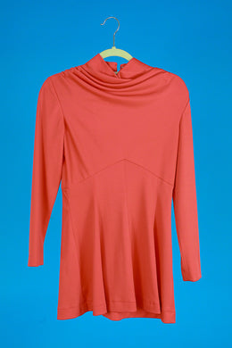 Mod Mini Mockneck Dress S