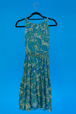 Paisley Print Day Dress