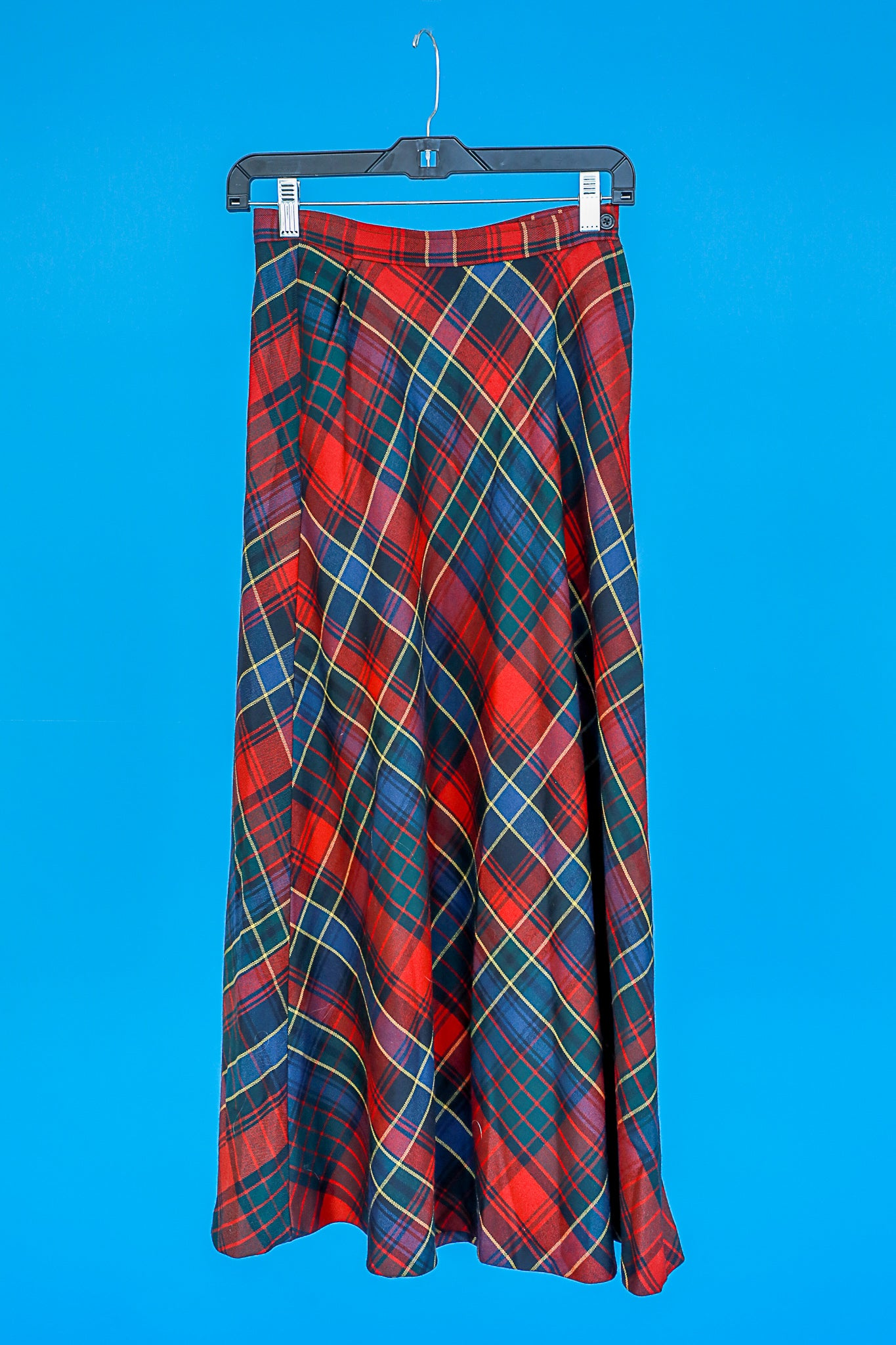 Plaid Skirt XS