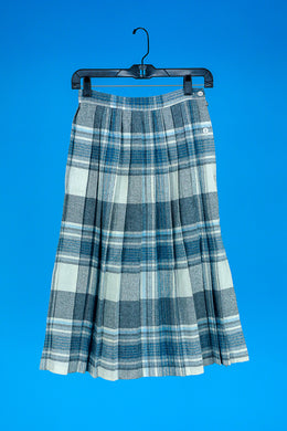 Kensington Square Plaid Skirt S