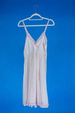 1960s Pink Nightgown