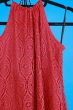 1990s Lace Fringe  Mini Dress