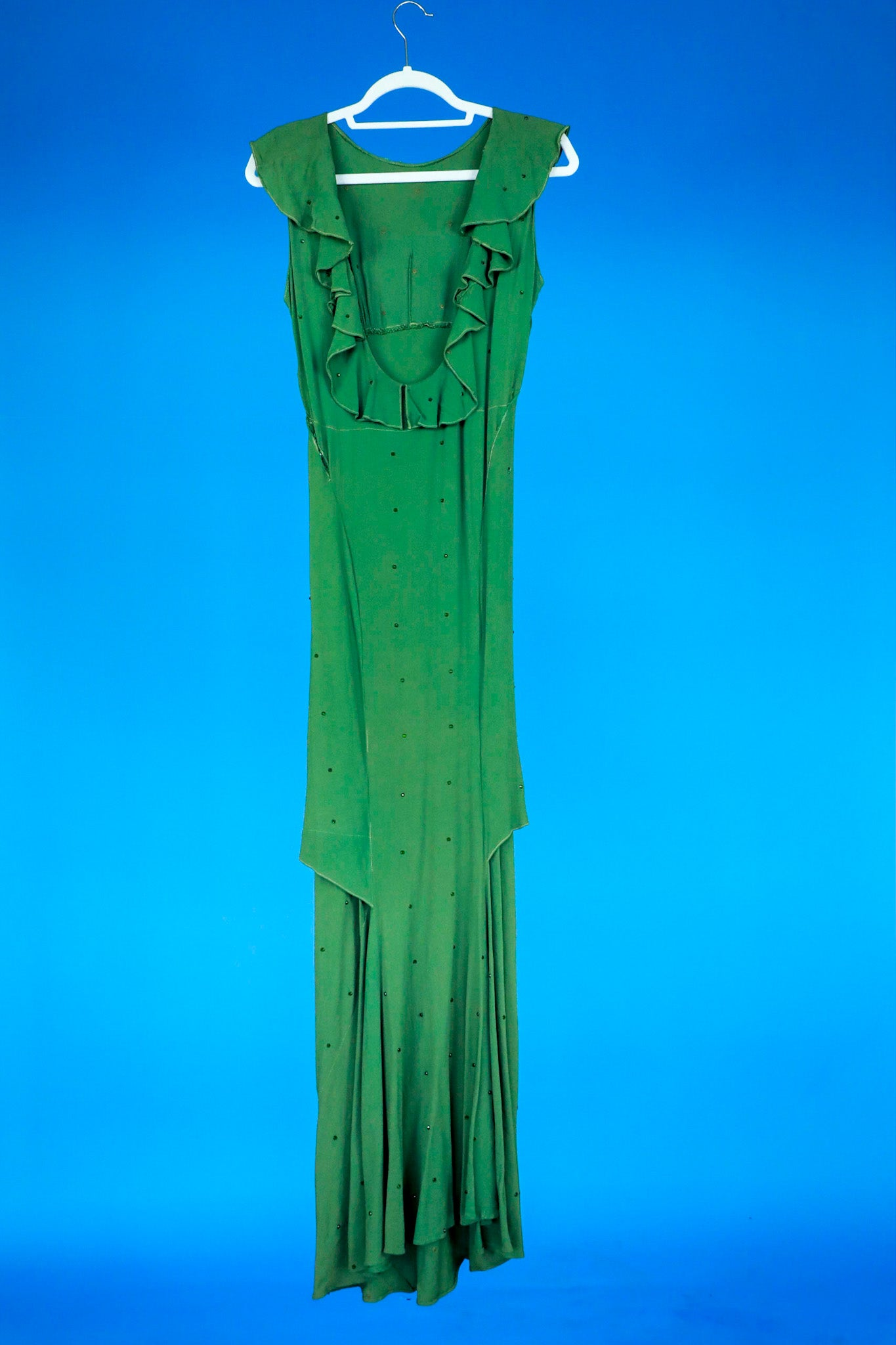 1930s Style Green gown