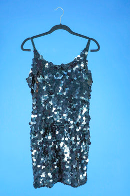 Peak Paillette sequin dress