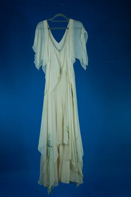 St. Simon 1980s Sheer Layer Gown
